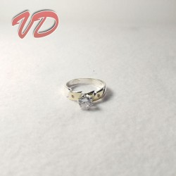 Valdo 111 silver ring with...