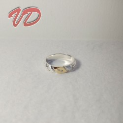Silver ring Valdo 143 with...