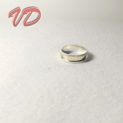 Valdo 101 silver ring with...