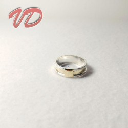 Valdo 102 silver ring with...