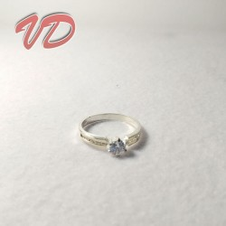 Silver ring with fantasy...